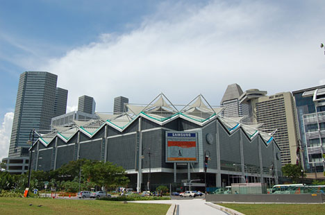 Singapore International Convention & Exhibition Centre(シンガポール国際会議場・展示会場)