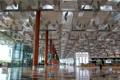 Changi International Airport(チャンギ国際空港)