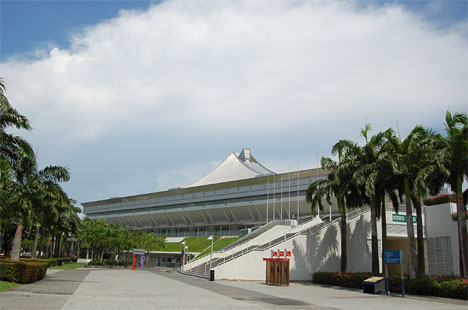 Sjngapore Indoor Stadium(シンガポール・インドア・スタジアム)