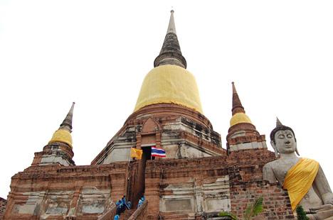 Wat Yai Chaimongkhon(ワット・ヤイ・チャイモンコン)