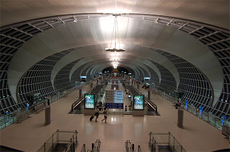 Suvarnabhumi International Airport(スワンナプーム国際空港)